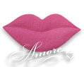 1000 Silk LIP shape Petals HOT PINK